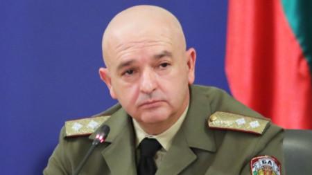 Проф. Венцислав Мутафчийски на брифинга в Министерския съвет - 5 април 2020 г.