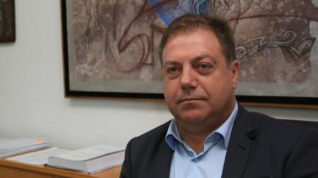 Председателят на БЛС д-р Иван Маджаров