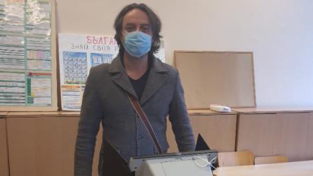 Страцимир Павлов, Парламентарни избори 2021, гласуване