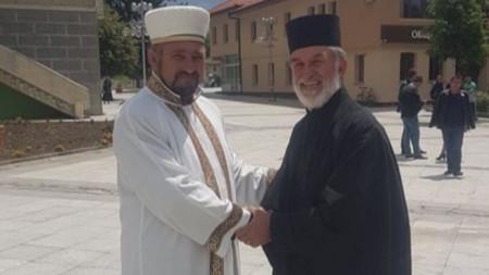 Ахмед Горелски и Николай Попов