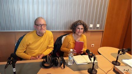 Христина Ташева със съпруга си Едвин Столк