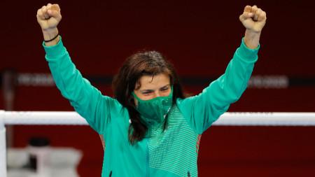 Стойка Кръстева спечели олимпийски медал в боксовия турнир при жените в Токио