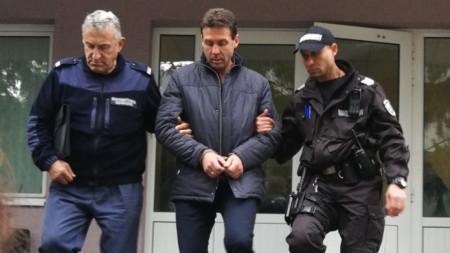 Арестът на кмета на община Чупрене Ваньо Костин.