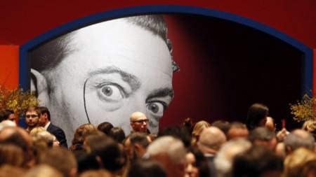 Откриване на изложба на Дали в Москва, януари  2020