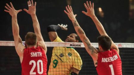 САЩ и Русия на финал в Лигата на нациите по волейбол