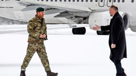 Принц Хари на визита в Северна Норвегия