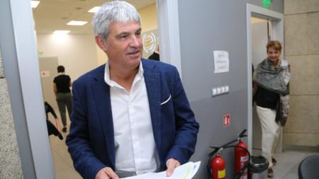 """В КНСБ се проведе пресконференция на тема """"Недеклариран труд и нарушаване правата на работното място""""."""