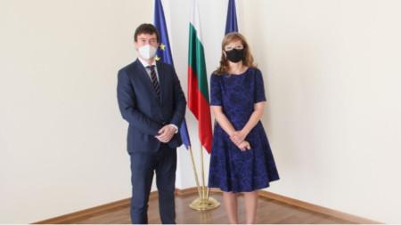 Екатерина Захаријева и Лукаш Кауцки