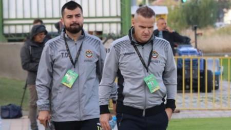 Тимур Дагуев и Азрудин Валентич