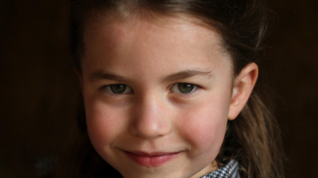 Принцеса Шарлот на 5 години.