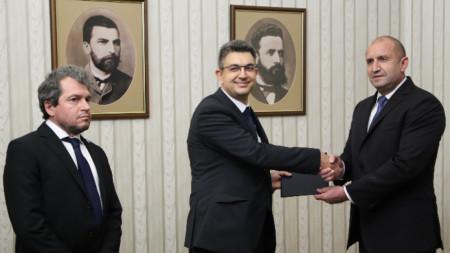 Roumen Radev et Plamen Nikolov