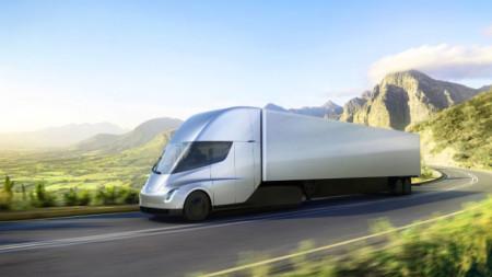 Електрически камион Tesla Semi
