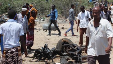 Атака срещу италиански конвой в Сомалия, 30 септември 2019 г.