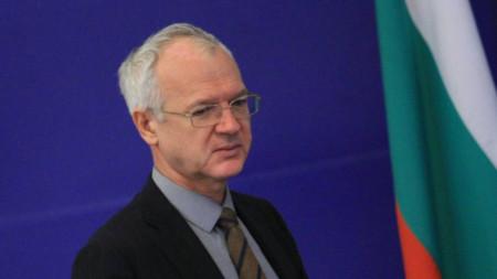 BICA Chairman Vasil Velev
