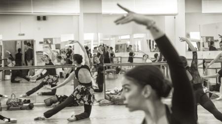 Репетиция на Старозагорския балет