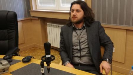 """Веселин Плачков в студиото на """"Неделя 150"""""""