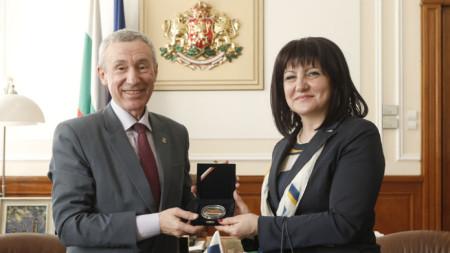 Andrej Klimov dhe Cveta Karajançeva