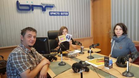 Андон Георгиев, Калина Станева и Вероника Петрова