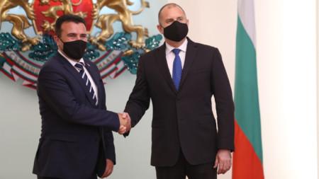 Зоран Заев и Румен Радев