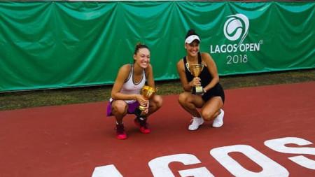 Терзийска (вдясно) спечели втора титла за сезона.