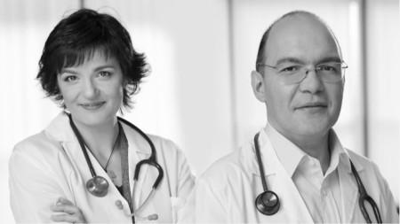 Д-р Михаела Петрова и д-р Виктор Камбуров