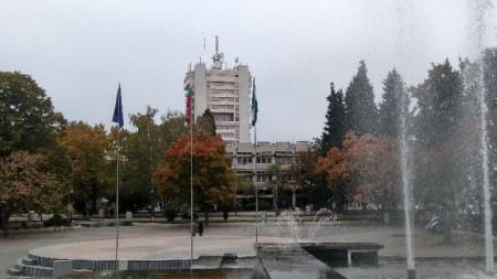 Пазарджик. Фонтаните в центъра на града