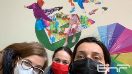 Ирина Недева, Илина Коларова и Даниела Костова (от ляво на дясно)