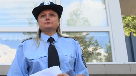 """Инспектор Мария Ботева от """"Пътна полиция"""""""