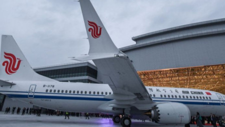 китайски самолет Boeing 737 Max 8