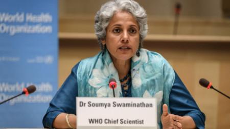д-р Сумия Сваминатан, главен учен на Световната здравна организация