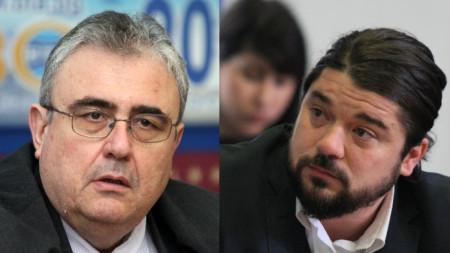 Огнян Минчев и Страхил Делийски