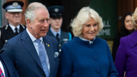 Принц Чарлз и съпругата му Камила.