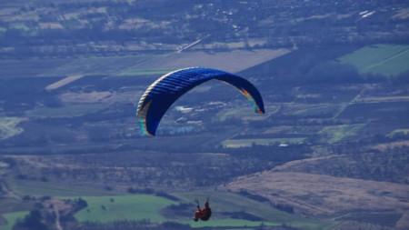 Полет от връх Виден