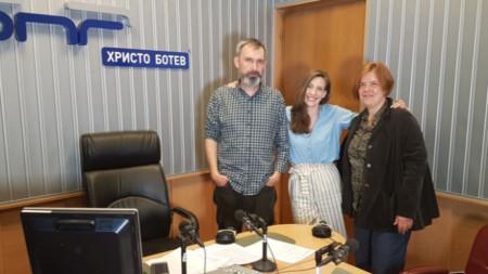 Калин Вълчев, Калина Станева и Рада Дичева