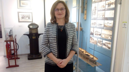 Марияна Кръстева, директор на Военноморски музей - Варна