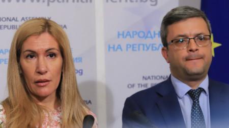 Николина Ангелкова и Тома Биков