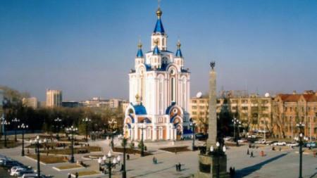 Изглед от град Хабаровск