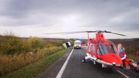 Словашката служба за гражданска защита (ССГЗ) допуска, че жертвите може да се увеличат.