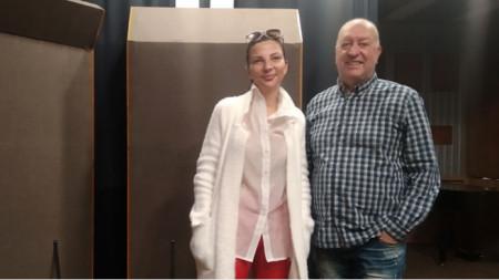 Жаклин Вагенщайн и Емил Янев