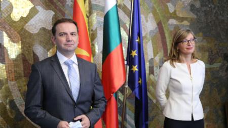 Буяр Османи и Екатерина Захариева