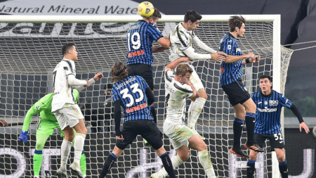 Ювентус завърши 1:1 у дома срещу Аталанта