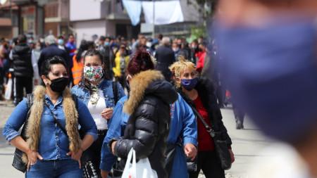 """Преди дни заради карантините мерки жители на столичния квартал """"Факултета""""се събраха на протест."""