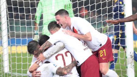 Рома победи с 3:1 Верона