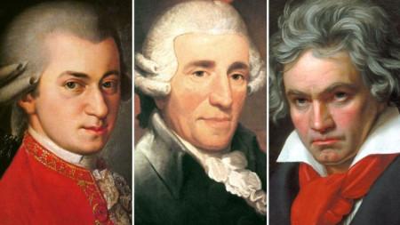 Моцарт, Хайдн и Бетовен