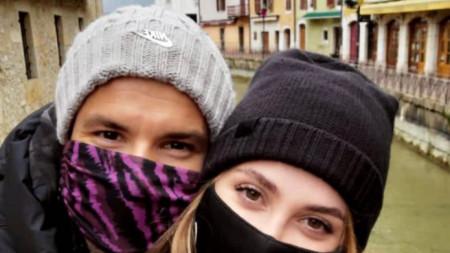 Григор Димитров се показа заедно с Лолита