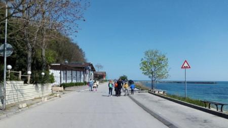 Крайбрежна алея Варна