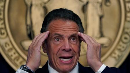 Андрю Куомо, губернатор на Ню Йорк.