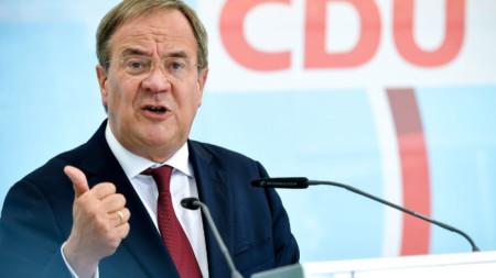 Армин Лашет - лидер на германския Християндемократически съюз (ХДС).