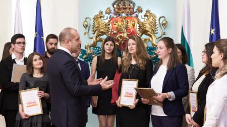 """Церемонията по награждаване на """"Дондуков 2"""""""