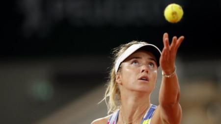 Елина Свитолина е в третия кръг в Париж.